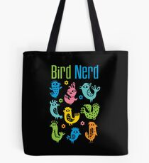 Bird Nerd - dark Tote Bag