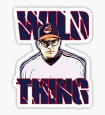 Wild thing - Rick Vaughn Sticker