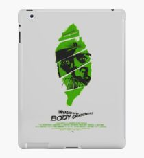 Invasion of the body snatchers iPad Case/Skin