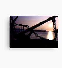Tromso Sunset Canvas Print