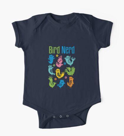 Bird Nerd - white Kids Clothes