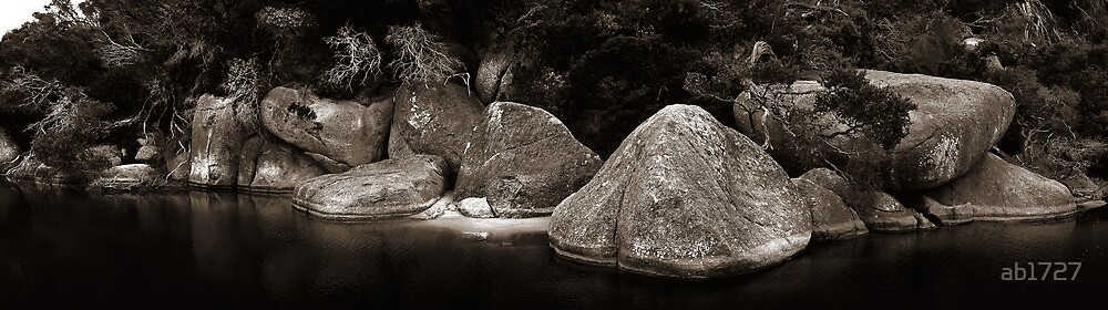Rocks, Wilsons Promontory, Australia by ab1727
