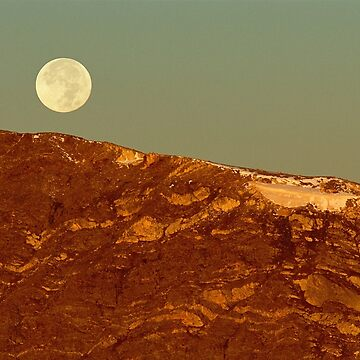 Moon Over Mount Ida by glasere