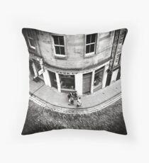 Victoria Street Edinburgh Throw Pillow