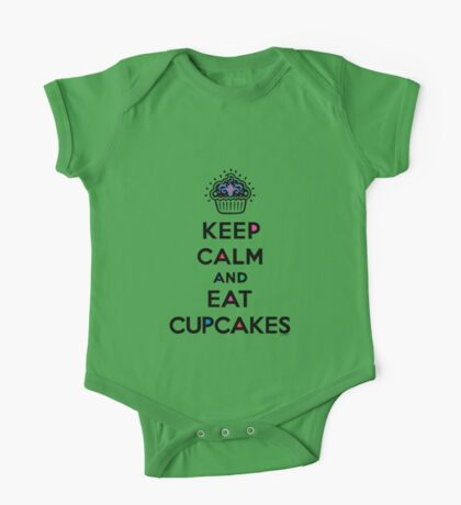 Keep Calm and Eat Cupcakes 6 Kids Clothes