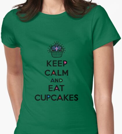 Keep Calm and Eat Cupcakes 6 T-Shirt