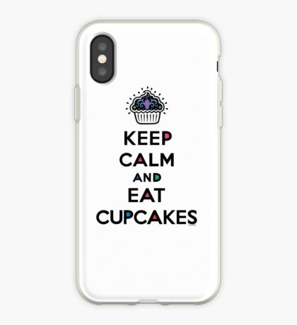Keep Calm and Eat Cupcakes 6 iPhone Case