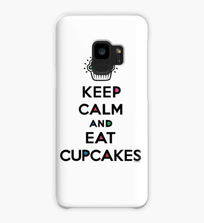 Keep Calm and Eat Cupcakes 6 Case/Skin for Samsung Galaxy