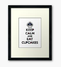Keep Calm and Eat Cupcakes 6 Framed Print