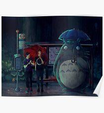 My Neighbor Totoro (ft Dan and Phil) Poster
