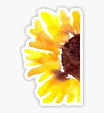 Aquarell Sonnenblume Sticker