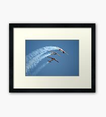 Southern Knights - Looping, Avalon Airshow 2007 Framed Print