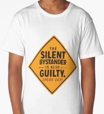 The Silent Bystander Long T-Shirt