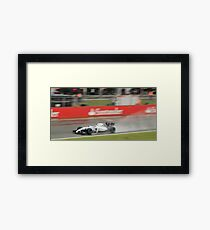 Valtteri Bottas - Williams Martini Racing  Framed Print