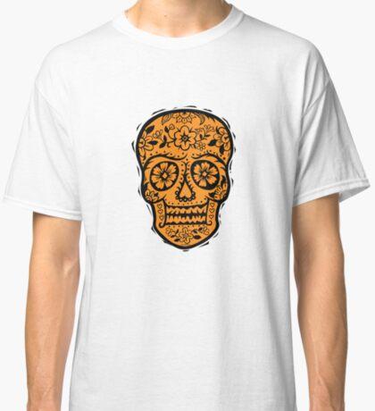 Sugar Skull SF Halloween on blk Classic T-Shirt