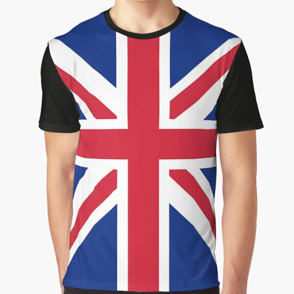 Flag: United Kingdom Graphic T-Shirt