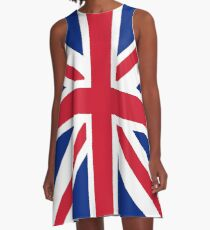 Flag: United Kingdom A-Line Dress