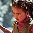 Village Girl by Harry Oldmeadow