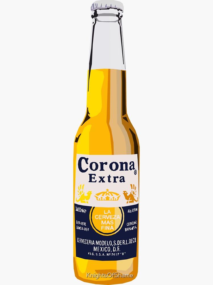 Corona Bottle by KnightsOfShame