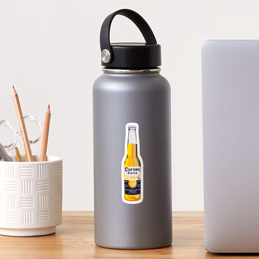 Corona Bottle Sticker