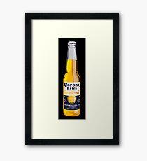 Korona-Flasche Gerahmtes Wandbild