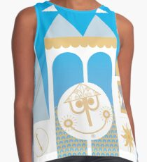 Small World Illustration Contrast Tank