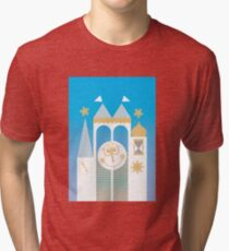 Small World Illustration Tri-blend T-Shirt