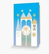 Small World Illustration Greeting Card