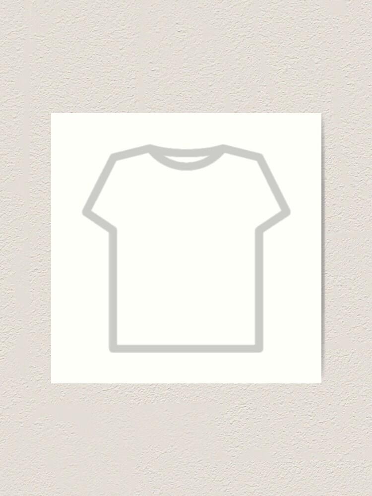 Roblox T Shirt Art Print By Illuminatiquad Redbubble