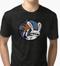 Sam and Max Tri-blend T-Shirt