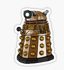 Cute Dalek Cartoon Sticker
