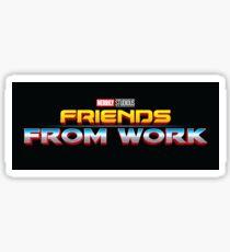 Friends From Work Sticker
