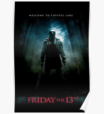 Friday The 13th Movie Poster (2009) Poster