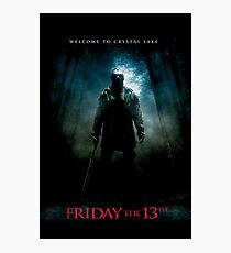Friday The 13th Movie Poster (2009) Photographic Print