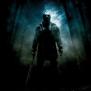 Friday The 13th Movie Poster (2009) by thecreepstore