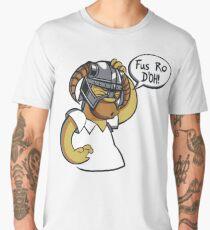 Skyrim - Fus Ro D'oh Men's Premium T-Shirt