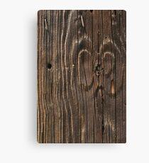 Weathered Wood  Canvas Print