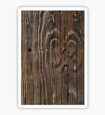 Weathered Wood  Sticker