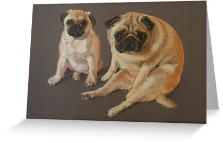 Pastel Pugs by Katie Lancaster