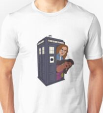 Doctor Who-Black Mirror Unisex T-Shirt