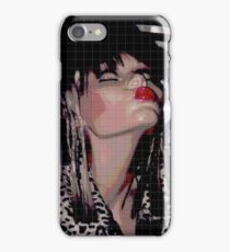 KISSEY FRAU LIPPEN STIFF iPhone Case/Skin