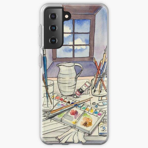 Window into Art Samsung Galaxy Soft Case