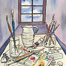 Window into Art by Giselle Luske
