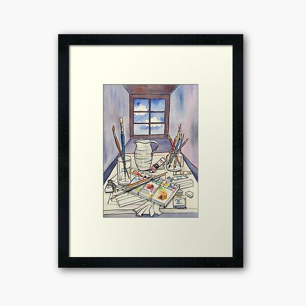 Window into Art Framed Art Print