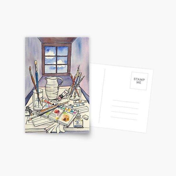 Window into Art Postcard