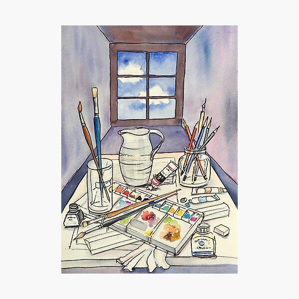 Window into Art Photographic Print