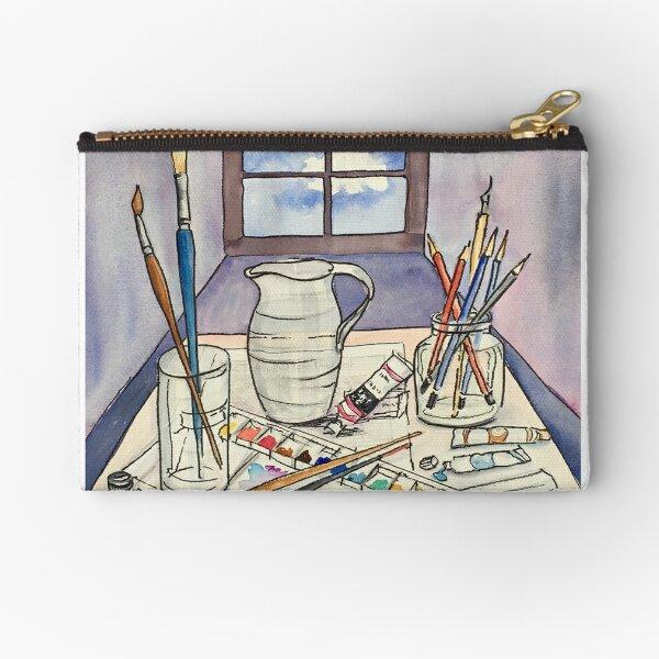 Window into Art Zipper Pouch