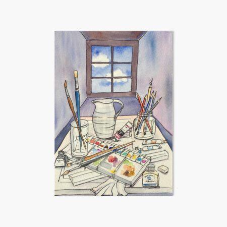 Window into Art Art Board Print
