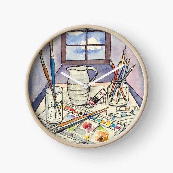 Window into Art Clock