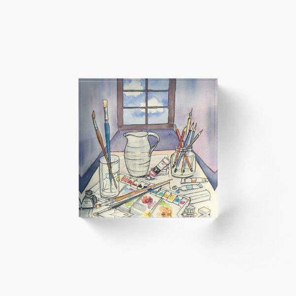 Window into Art Acrylic Block
